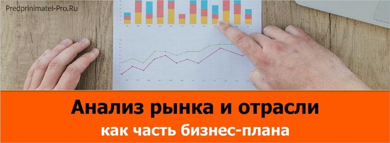 анализ рынка и отрасли